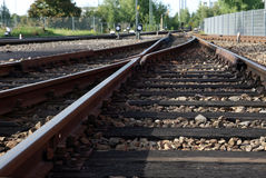 De trein Stock Foto's