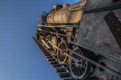 De trein aan hemel Royalty-vrije Stock Afbeelding