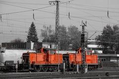 De trein in het geheugen Royalty-vrije Stock Foto's