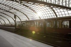 De trein hoofdpost van Berlijn (Hauptbahnhof) Stock Fotografie