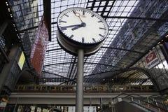 De trein hoofdpost van Berlijn Hauptbahnhof Stock Fotografie