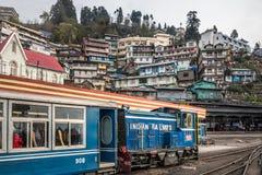 De trein van de Darjeelingsstoom royalty-vrije stock foto