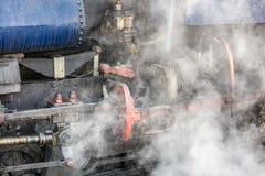 De trein van de Darjeelingsstoom Stock Foto