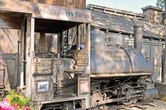 De Trein van de boraxmijn Royalty-vrije Stock Foto