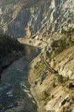 De Trein van de Canion van Fraser Royalty-vrije Stock Afbeeldingen