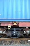 De trein van de container Royalty-vrije Stock Foto