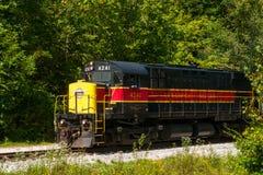 De trein van de Cuyahogavallei Stock Afbeelding