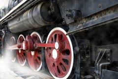 De trein van de damp stock fotografie