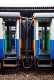 De trein van de deur Stock Fotografie