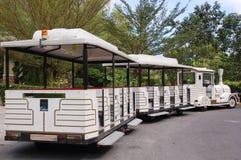 De trein van de dierentuin stock fotografie