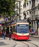 De trein van de Forchspoorweg in Zürich royalty-vrije stock fotografie