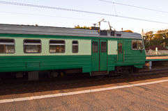 De trein van de forens royalty-vrije stock foto's
