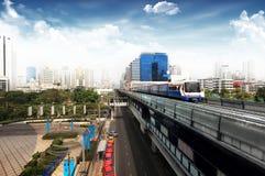 De trein van de hemel stock afbeelding