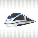 De trein van de hoge snelheid vector illustratie
