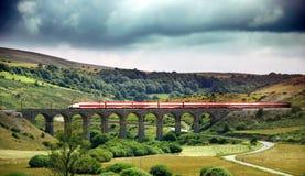 De trein van de hoge snelheid Royalty-vrije Stock Foto