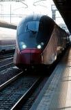 De trein van de hoge snelheid Royalty-vrije Stock Foto's
