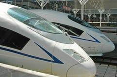 De trein van de hoge snelheid van China Royalty-vrije Stock Afbeelding