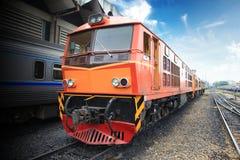 De trein van de lading royalty-vrije stock foto's