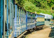 De trein van de metermaat in Ooty stock foto