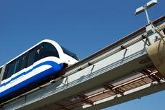 De trein van de monorail Stock Afbeelding