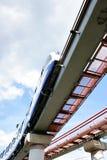 De trein van de monorail Stock Foto's