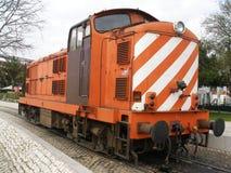 De Trein van de motor Royalty-vrije Stock Foto's