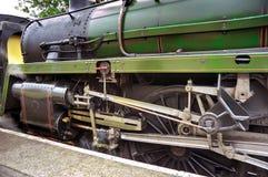 De Trein van de Motor van de stoom Royalty-vrije Stock Foto