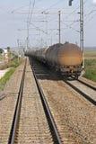De trein van de olie Stock Afbeeldingen