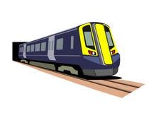De trein van de passagier Stock Fotografie