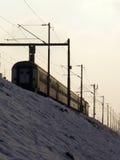 De trein van de stad Stock Foto's