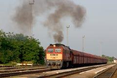 De trein van de steenkool Royalty-vrije Stock Afbeeldingen