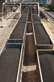 De trein van de steenkool Royalty-vrije Stock Foto