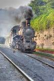 De Trein van de stoom Royalty-vrije Stock Fotografie