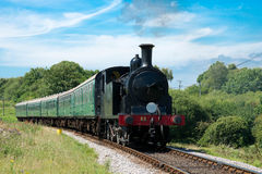 De trein van de stoom Royalty-vrije Stock Afbeelding
