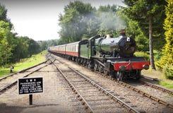 De trein van de stoom Stock Foto's