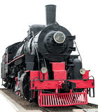 De trein van de stoom. Royalty-vrije Stock Foto