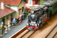 De trein van de stoom Stock Afbeelding