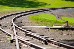 De trein van de toeristenstoom Royalty-vrije Stock Foto's