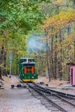 De trein van een sprookje stock foto