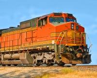 De trein van Frieght Stock Afbeeldingen