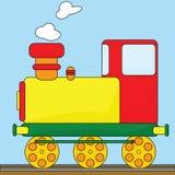 De trein van het beeldverhaal Stock Foto