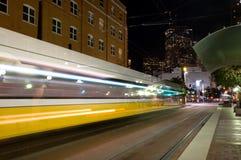 De trein van het PIJLTJE Stock Afbeeldingen