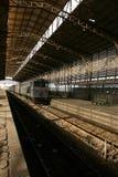 De trein van het spook Stock Foto