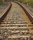 De trein van het spoor Royalty-vrije Stock Foto