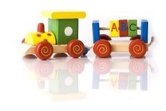 De trein van het stuk speelgoed Royalty-vrije Stock Afbeelding