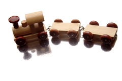 De trein van het stuk speelgoed Royalty-vrije Stock Foto
