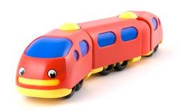 De trein van het stuk speelgoed stock foto's