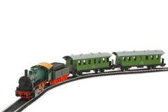 De trein van het stuk speelgoed Stock Afbeeldingen