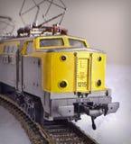 De Trein van het Stuk speelgoed van het tin met Brieven Royalty-vrije Stock Foto