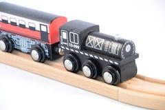 De Trein van het Stuk speelgoed van het tin met Brieven stock foto's
